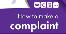 How to make a complaint text